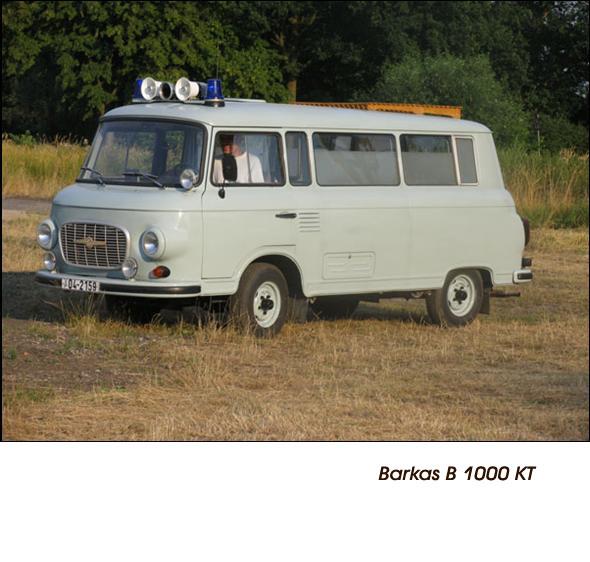 DDR Polizeifahrzeuge Volkspolizei Deutsche Demokratische Republik Polizeiautos Barkas B1000 KT