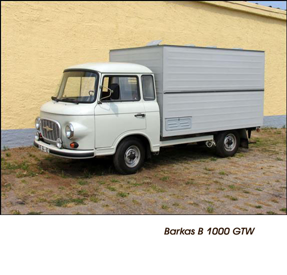 DDR Polizeifahrzeuge Volkspolizei Deutsche Demokratische Republik Polizeiautos Barkas B 1000 Polizei (BRD)