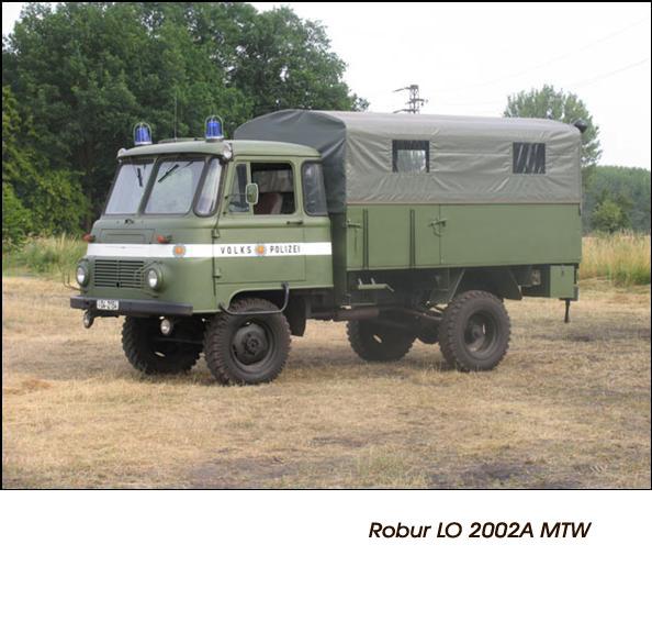 DDR Polizeifahrzeuge Volkspolizei Deutsche Demokratische Republik Polizeiautos Robur LO 2002A MTW