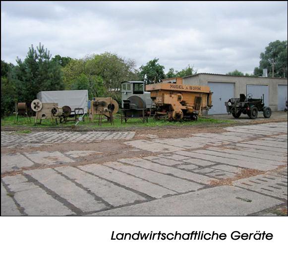 Historische DDR Landwirtschaftliche Geräte